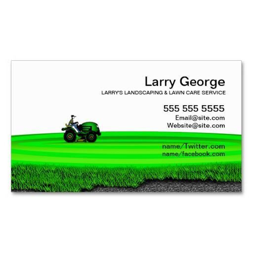 Lawn Care Business Cards - lilbibby.Com
