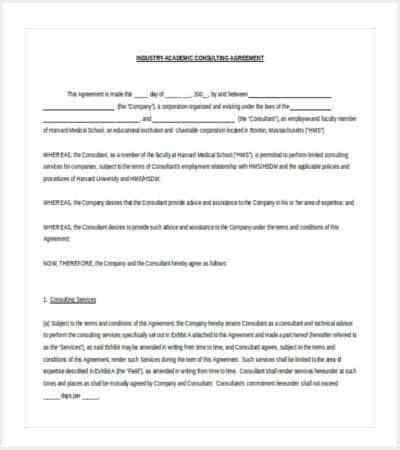 42+ Contract Templates | Free & Premium Templates