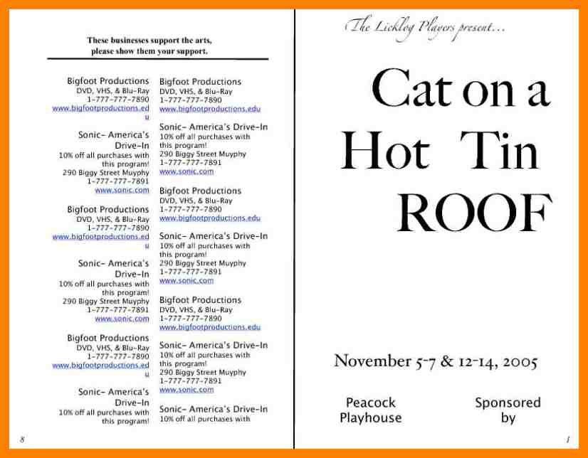 9+ theatre programme template   handy man resume