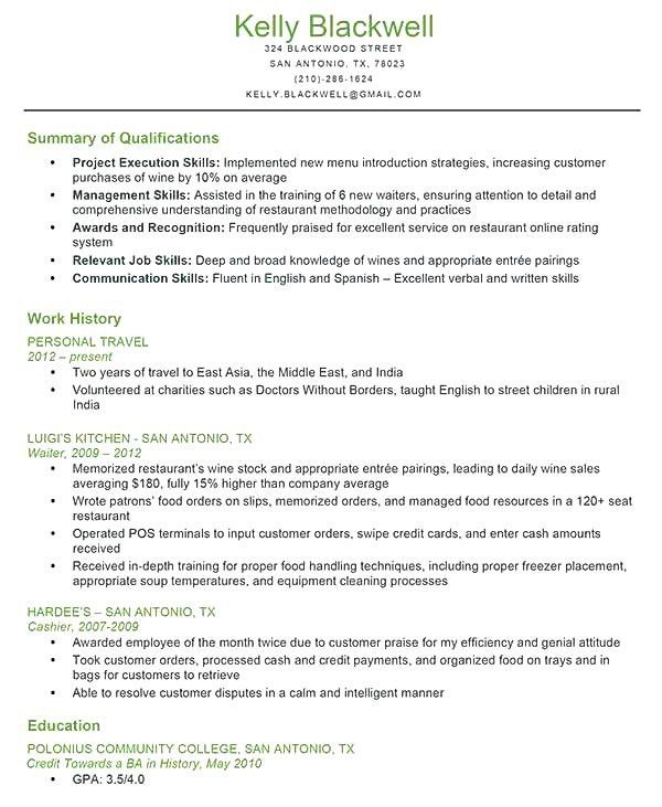 12 Key Qualifications In A Resume Resume skills used for resume ...