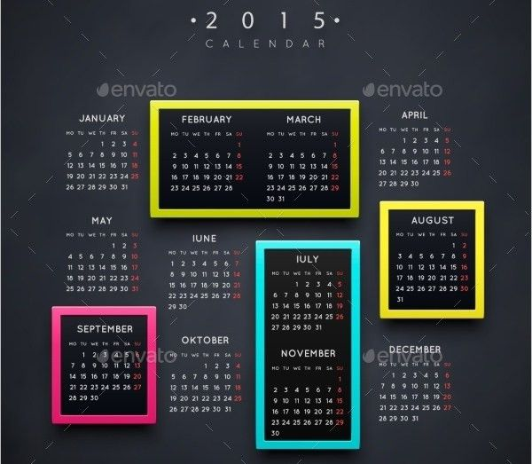 Event Calendar Templates - Free Download | Free & Premium Templates