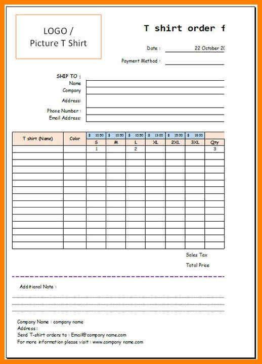 6+ t shirt order format | g-unitrecors