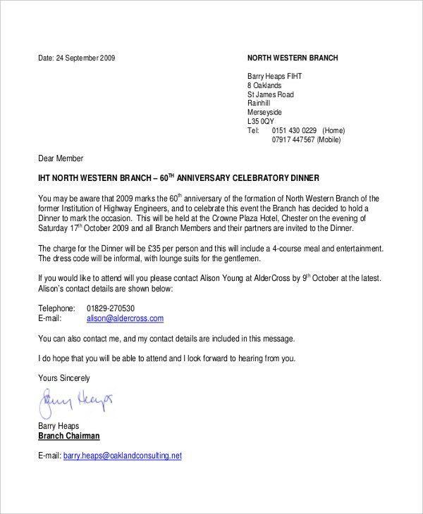 formal government invitation letter : Cogimbo.us