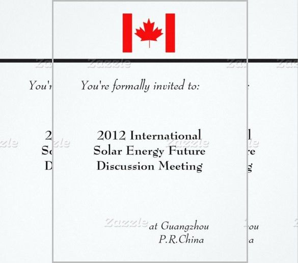 Meeting Invitation Template – 10+ Free PSD, Vector EPS, AI, Format ...