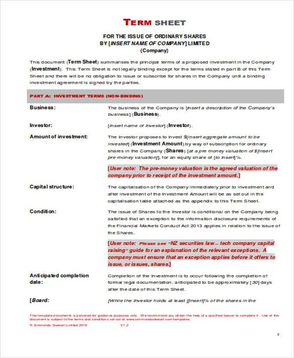 7+ Investment Sheet Templates - Free Samples, Examples Format ...