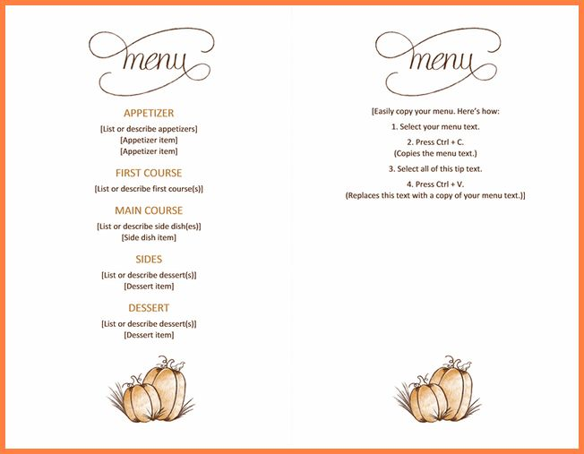 Free Menu Templates For Word.Restaurant Menu Template.png - Sales ...