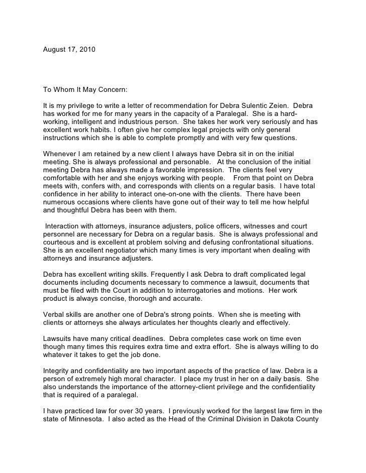 Deb Zeien Letter Of Recommendation Tvh