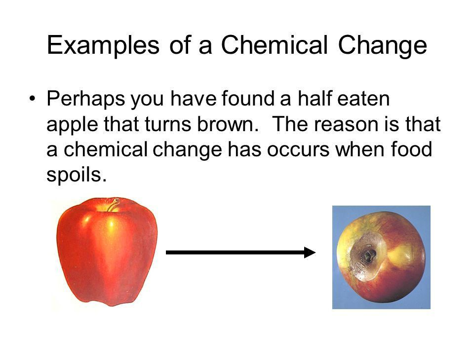 What is the Difference Between a Chemical Change and a Physical ...