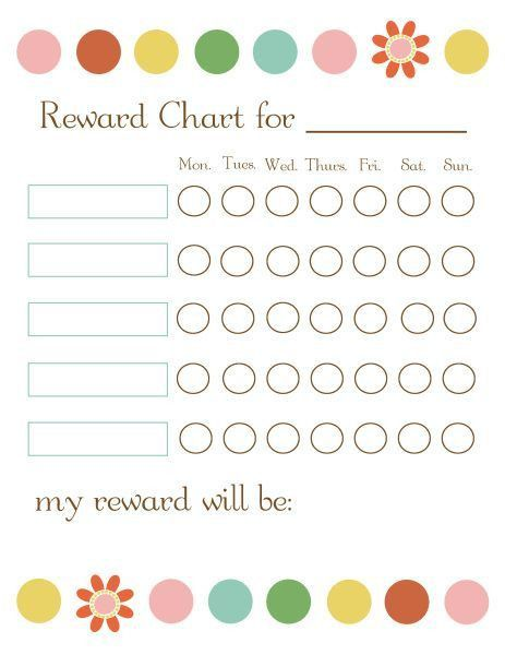 Best 25+ Reward chart template ideas on Pinterest | Chore chart ...
