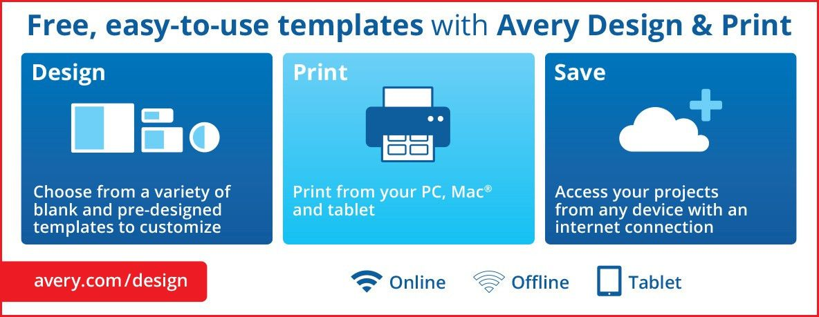 Free Software for Easy Printing of Avery® Products | Business Wire