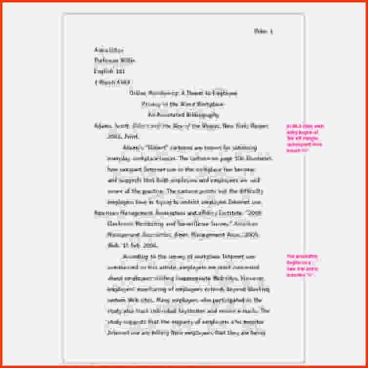 Annotated Bibliography Mla Format.Center The Title 1024×583.png ...