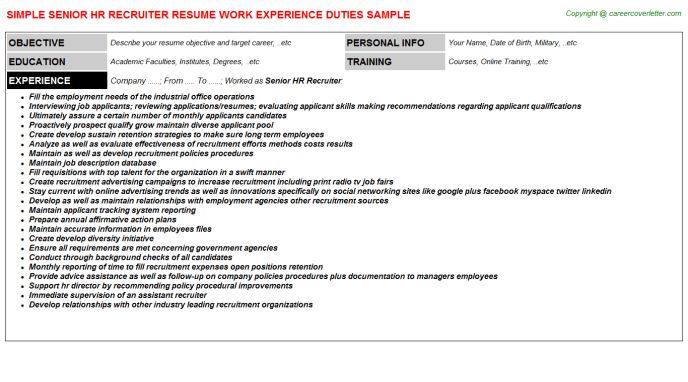 cover letter to headhunter sample - Funfpandroid