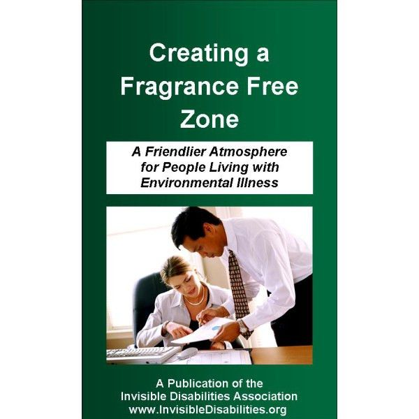 Creating a Fragrance Free Zone Pamphlet - 25 Pack - Invisible ...