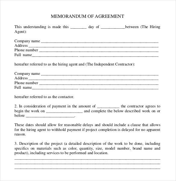 how to write agreement letter between two parties | Docoments Ojazlink