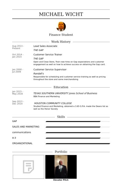 Lead Sales Associate Resume samples - VisualCV resume samples database