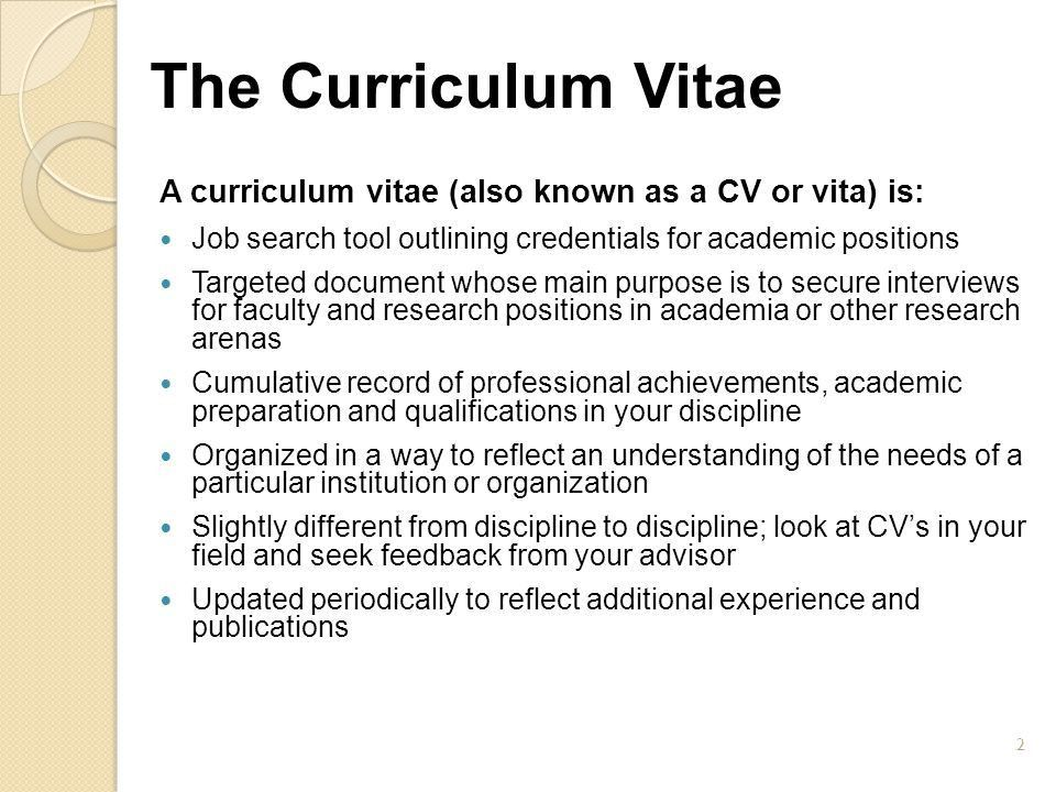 CVs and Cover Letters Veronica Perrigan Becky Weir - ppt video ...
