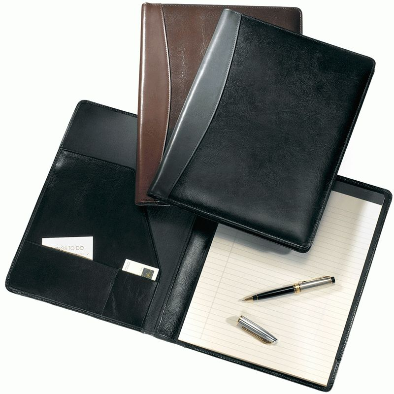 Leather Padfolios, Personalized Leather Padfolio covers