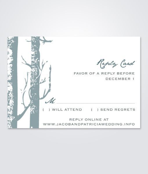 93 best DIY Wedding RSVP & Enclosure Card Templates images on ...