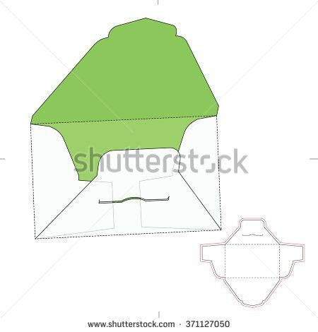 Envelope Template Stock Images, Royalty-Free Images & Vectors ...