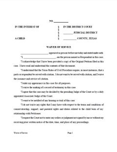 The Uncontested Divorce: Legal Notice | Jilpas Villarreal, PLLC