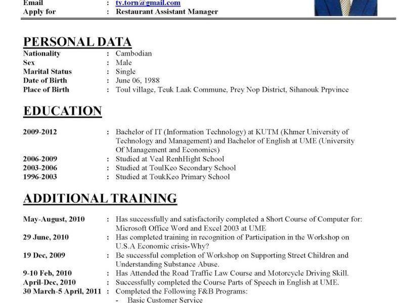 registered nurse resume sample. cv examplejpg. examples of a ...