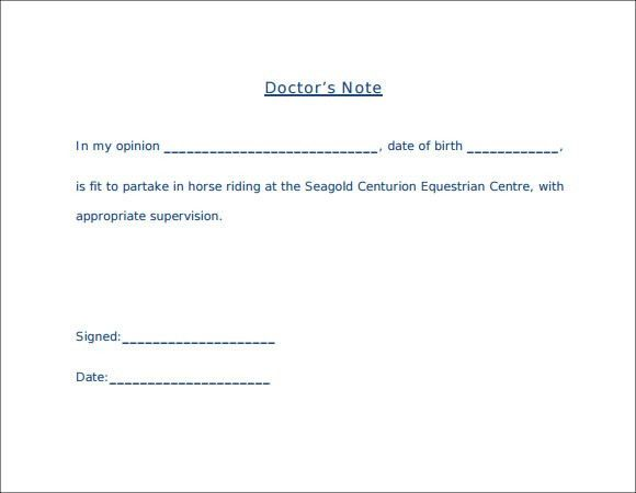 Download Fake Doctors Note for a Good Excuse – College Station Hotels