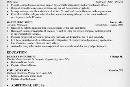 help desk analyst resume samples visualcv resume samples database ...