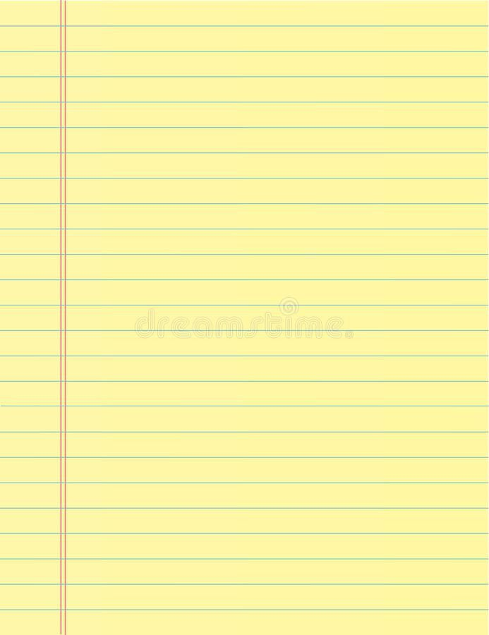 School Notebook Paper Sheet. Exercise Book Page Background. Lined ...