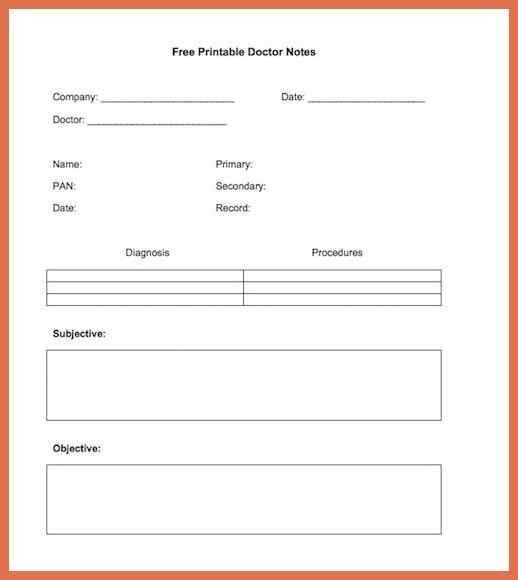 urgent care doctors note template | bio example