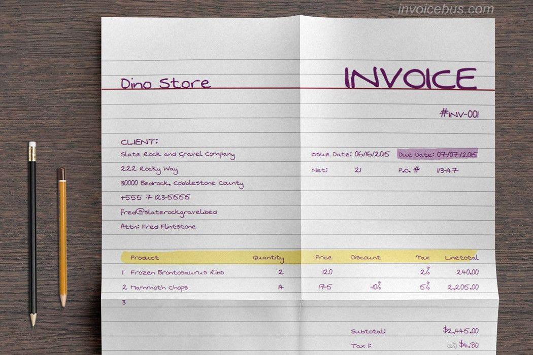 Download Best Invoice Template Free | rabitah.net