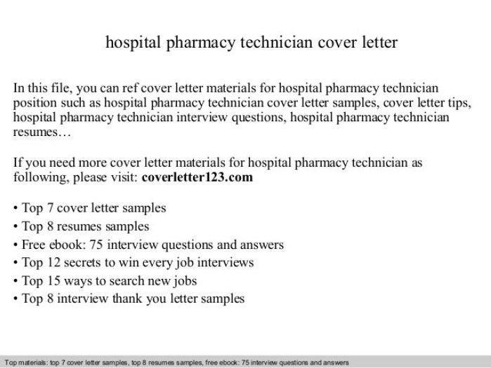 Iv Technician Cover Letter