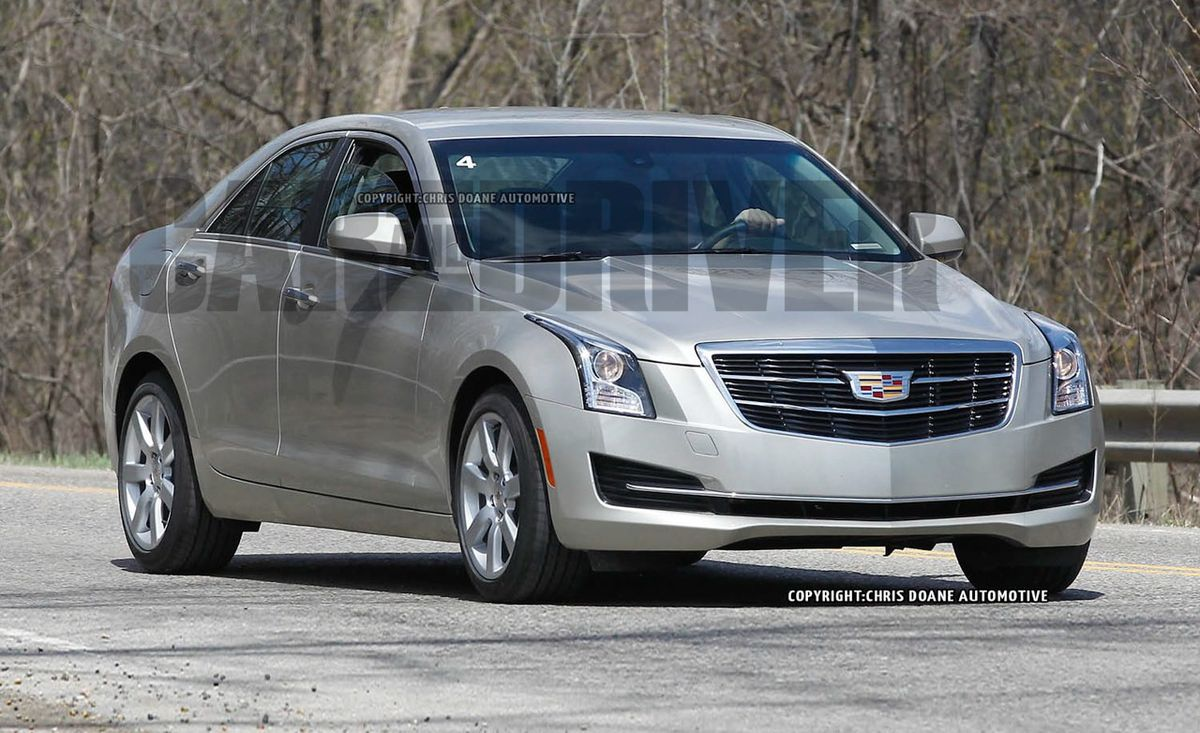 2015 Cadillac ATS Sedan Spy Photos – News – Car and Driver