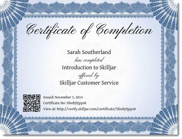 Award Blank Certificates | Certificate Templates