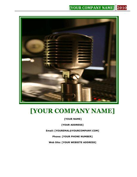 Recording Studio Business Plan - Template & Sample Form | Biztree.com