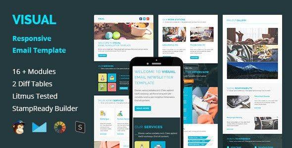Visual - Multipurpose Responsive Email Template by guiwidgets ...