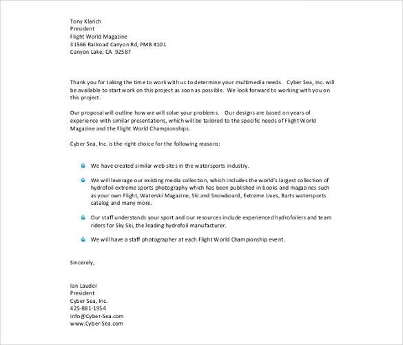Business Letter Format Templates | Sample, Example - Calendar Office