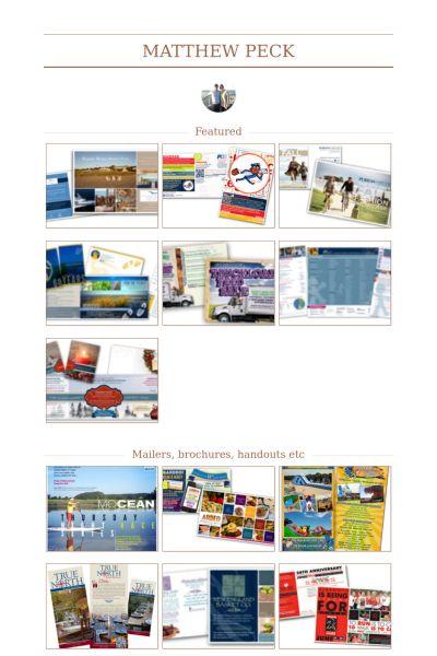 Senior Graphic Designer Resume samples - VisualCV resume samples ...