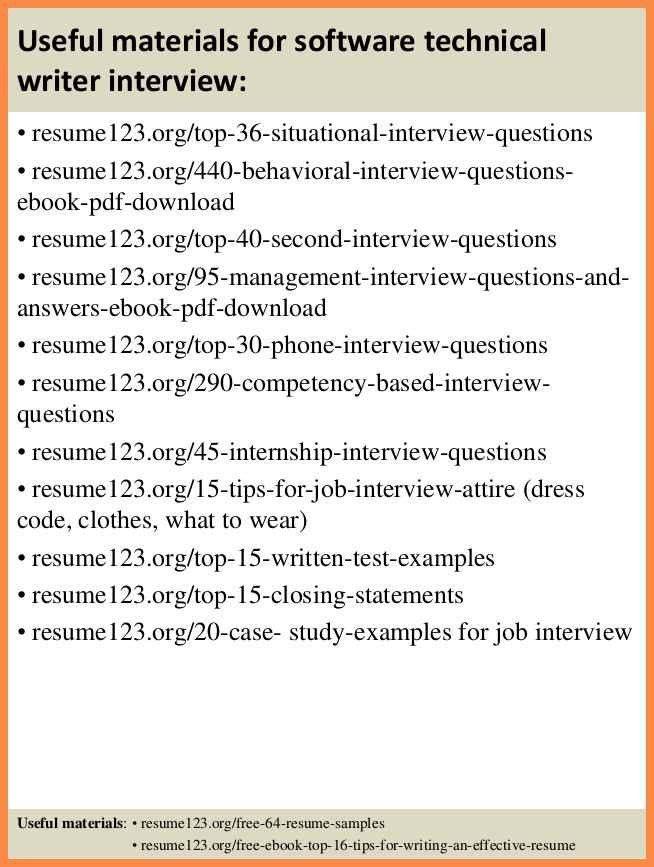 technical writer resume | resume name