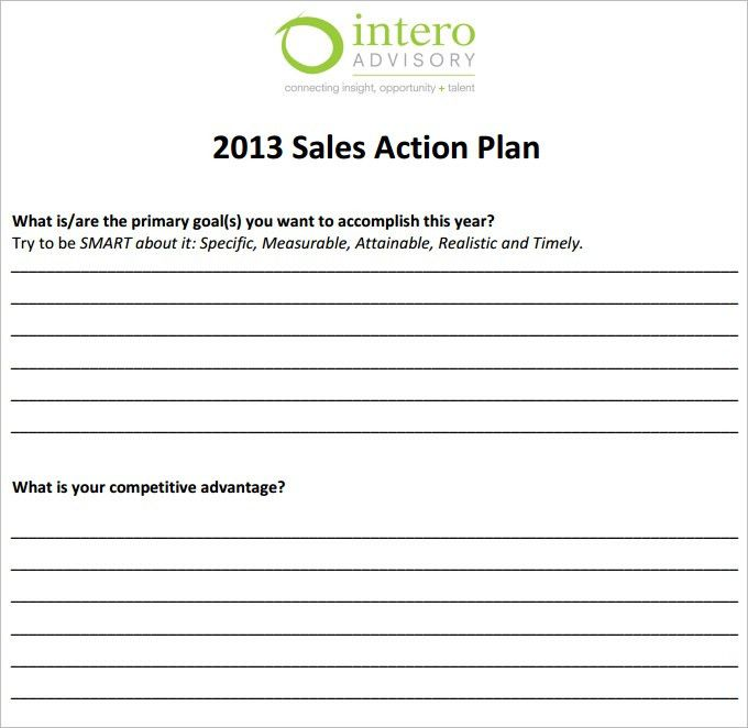 8+ Action plan templates - Word Excel PDF Formats