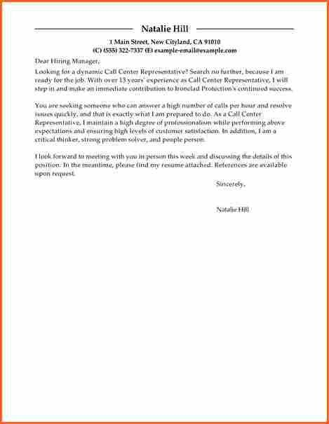 8 customer service call center cover - Budget Template Letter