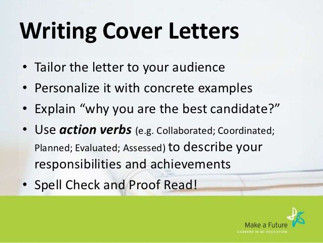 applying for your first job in teaching ubc okanagan - How To Write A Cover Letter For Your First Job