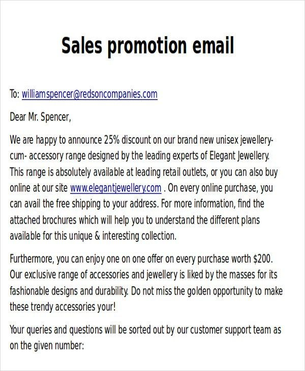 9+ Promotional Email Templates - Free PSD, EPS, AI Format Download ...