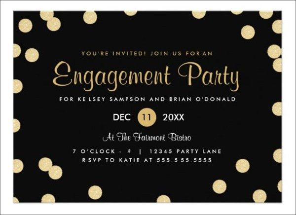 7+ Engagement Invitation Banners - Designs, Templates | Free ...