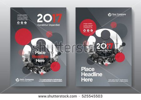 City Background Business Book Cover Design Stock Vector 685687129 ...