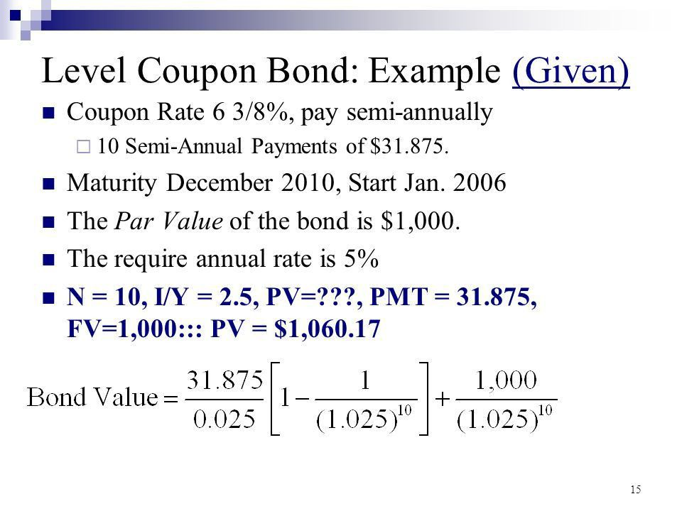 How to Value Bonds and Stocks - ppt download