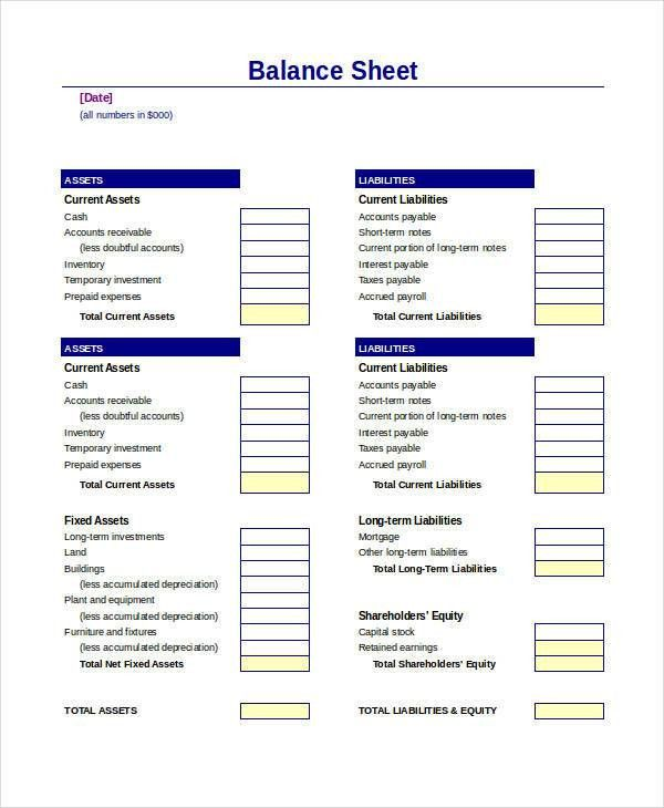 Income And Expenditure Template Excel Free Profit Sheet Accounting ...