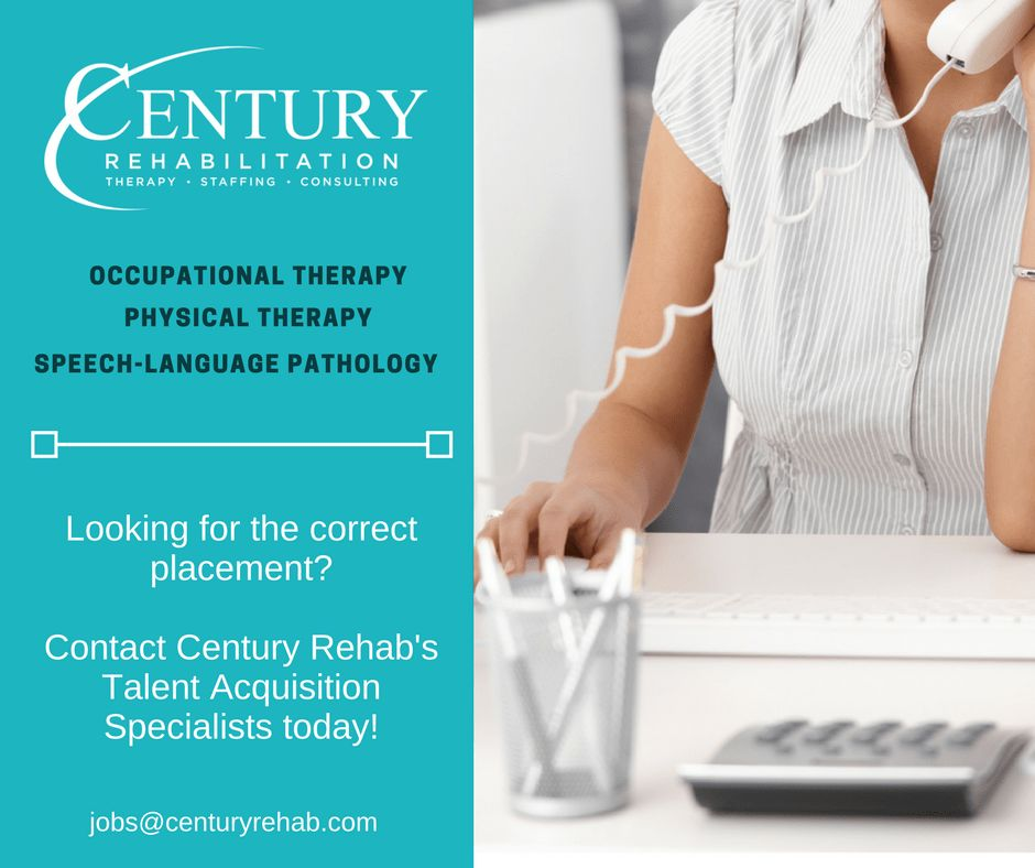 "Century Rehab on Twitter: ""Looking for the correct placement ..."