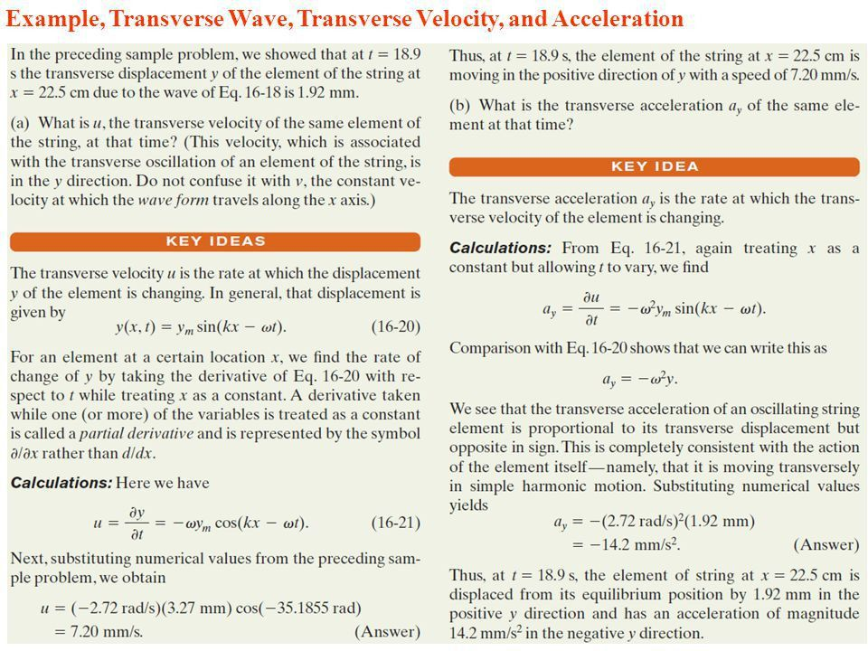 Chapter 16 Waves (I) What determines the tones of strings on a ...