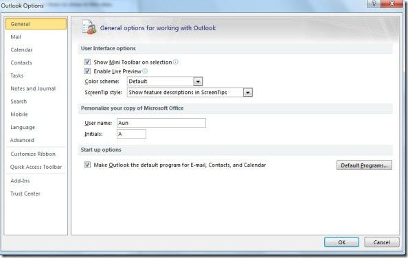 Add Email Signatures In Outlook 2010