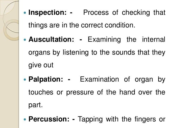 Nursing process assessing